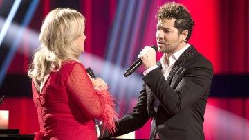 Semifinal: David Bisbal canta 'Lucía' con Blanca Villa y Pablo López al piano en la Semifinal de 'La Voz Senior'