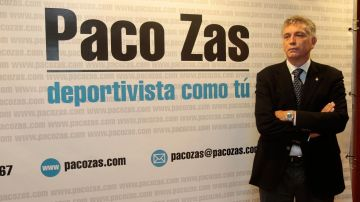 El presidente del Deportivo, Paco Zas.