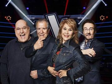 Estos son los finalistas de 'La Voz Senior'
