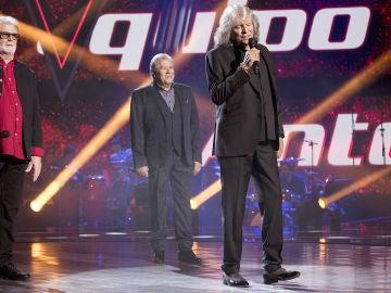 Semifinal: José Mercé canta 'Tu frialdad' con Juan Mena y Marcelo Gómez