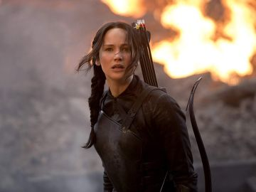 Jennifer Lawrence en 'Los Juegos del Hambre'