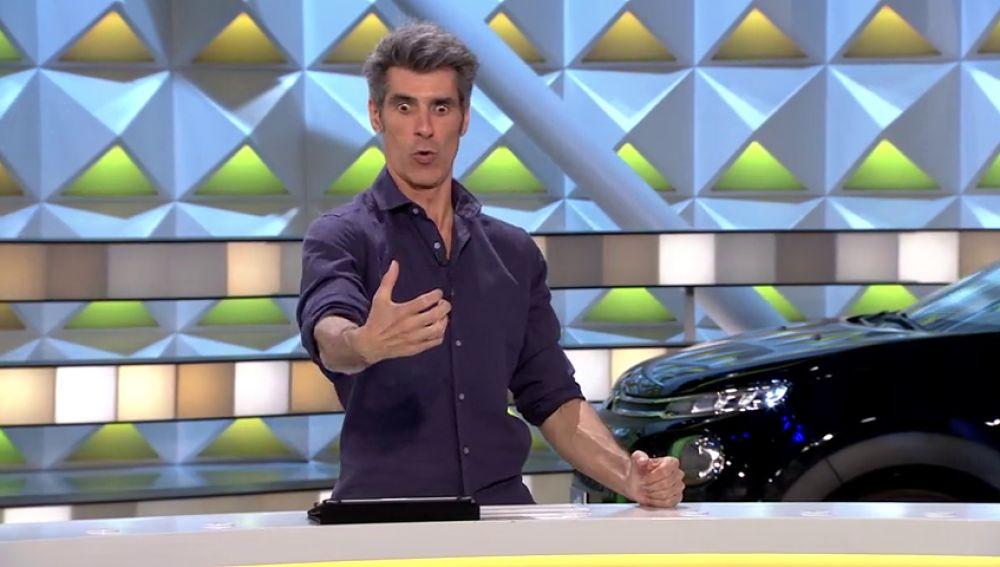 Jorge Fernández recuerda en 'La ruleta de la suerte' cómo notó que dejaba de ser joven