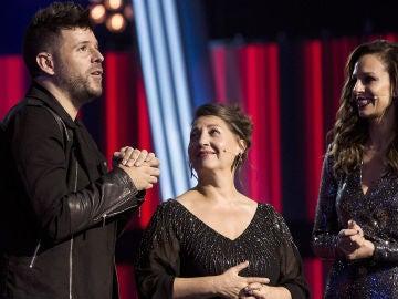 """Semifinal: La bonita reflexión de Pablo López al despedirse de Enriqueta Caballero: """"No pierdas el tiempo"""""""