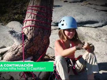 Una niña de diez años lograr escalar 'El Capitán' en Yosemite