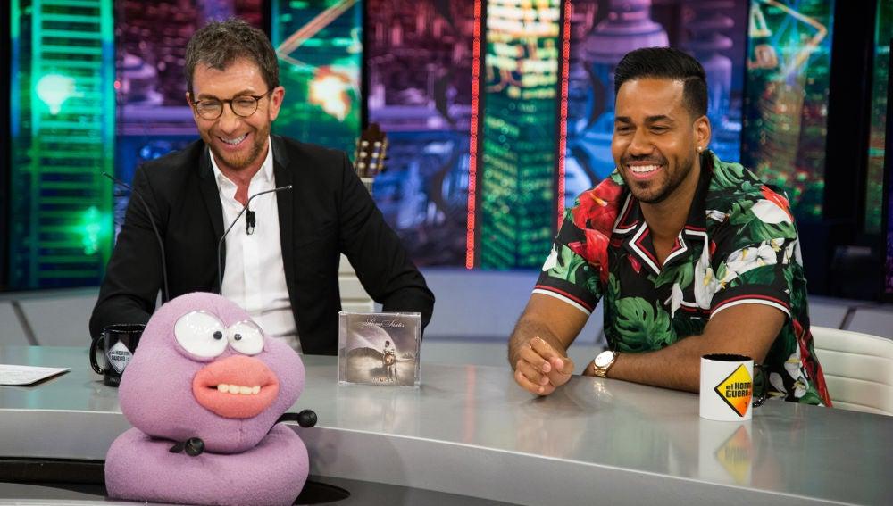 Romeo Santos averigua en 'El Hormiguero 3.0' a los famosos tras los tatuajes más horrorosos del mundo