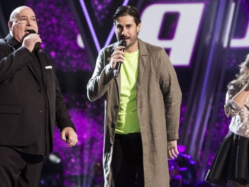Semifinal: Melendi canta 'No dudaría' con Xavi Garriga y Adriana Ceballos en 'La Voz Senior'