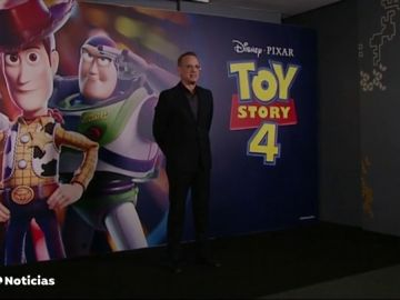 Tom Hanks presenta en Barcelona Toy Story 4