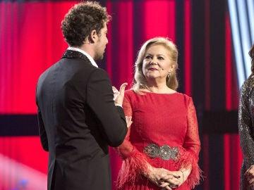 """Semifinal: David Bisbal se despide de Blanca Villa: """"Para mí ha sido un sueño cantar contigo"""""""