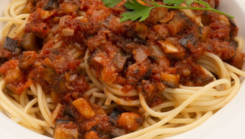 Receta De Karlos Arguiñano Espaguetis Con Berenjenas