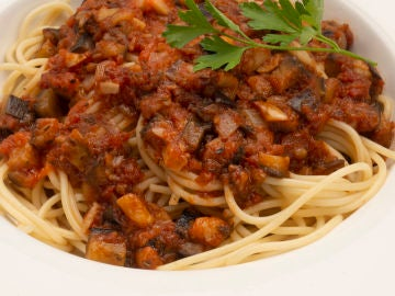 Receta de Karlos Arguiñano: Espaguetis con berenjenas