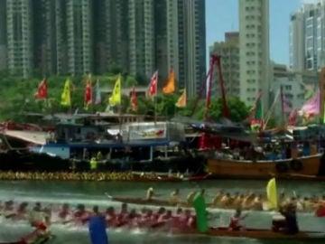 Festival del dragón Hong Kong.