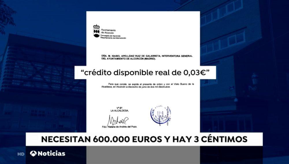 """La alcaldesa de Alcorcón acusa al PP de dejar """"únicamente tres céntimos"""" para las fiestas patronales"""