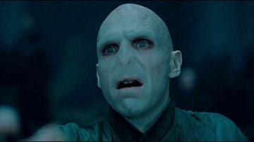 Ralph Fiennes como Voldemort en 'Harry Potter'