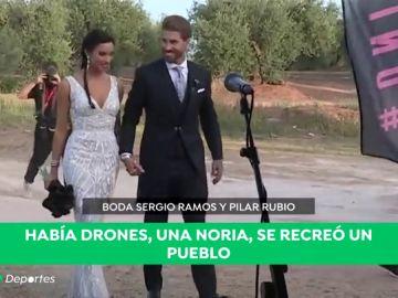 REEMPLAZO: Cazorla desvela secretos de la boda de Ramos y Pilar Rubio
