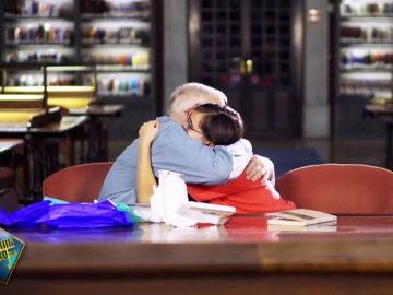 El encuentro entre Joseph y Lucía, un abuelo y una niña separados por 500 km y unidos por la misma pasión: la lectura