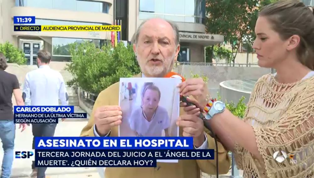 Asesinato en el hospital.