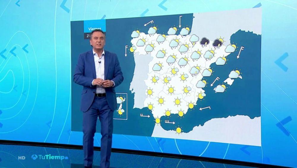 La previsión de Roberto Brasero: despedimos la primavera con avisos por tormentas