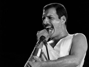 El cantante Freddie Mercury