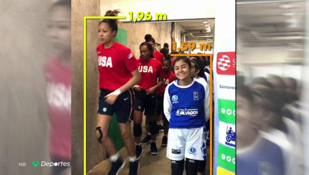 La histórica paliza de EEUU a El Salvador en el Torneo Américas Sub-16 de baloncesto: ¡114-19!
