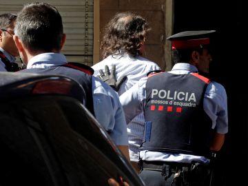 Detención de la expareja de Mónica Borràs