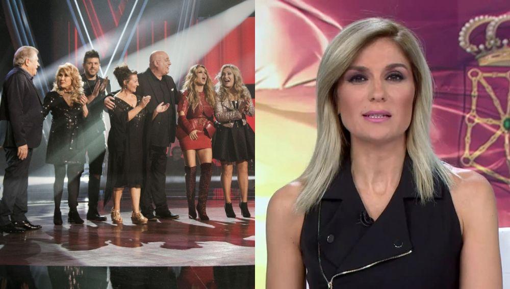 'La Voz Senior' y Antena 3 Noticias 1
