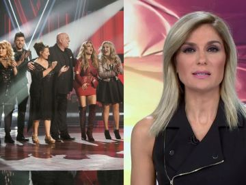 'La Voz Senior' y Antena 3 Noticias 1
