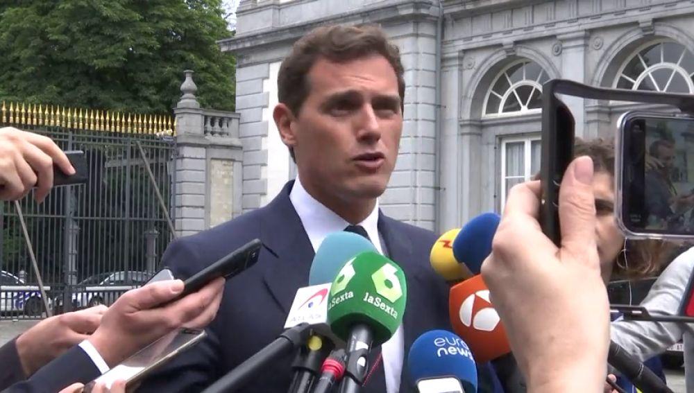 "Rivera: ""Macron nos ha felicitado"""