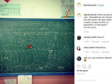 Instagram del Profe Manolo