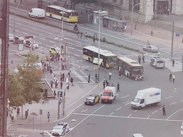 Accidente en Barcelona