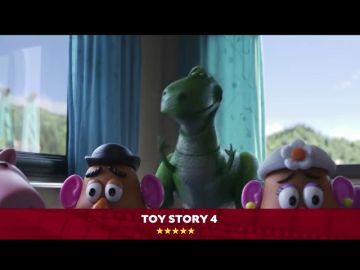 'Toy Story 4' se mide a interesantes óperas primas como 'En los 90' o 'La banda' en los estrenos de esta semana
