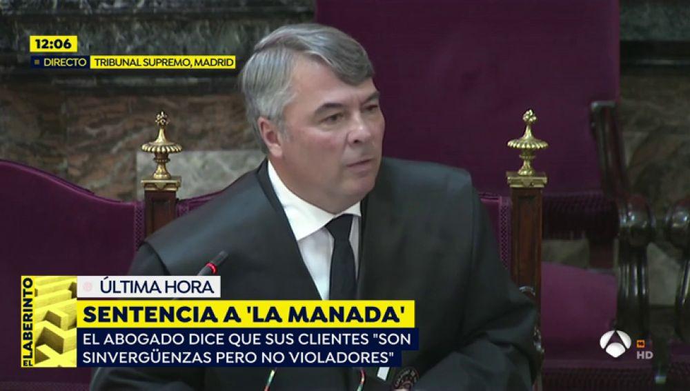 Abogado de 'La Manada', Agustín Martínez.