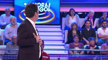 La queja del público de '¡Ahora Caigo!' que Arturo Valls se toma con humor