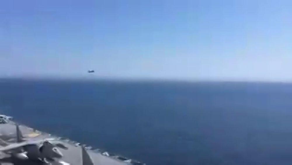 Incidente en el Báltico entre un caza ruso y el portaviones español 'Juan carlos I'