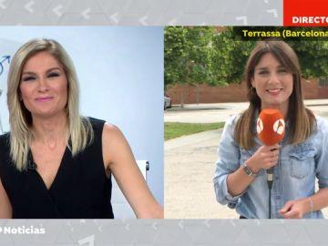 El emotivo agradecimiento de Sandra Golpe a Blanca Basiano tras siete años en Antena 3 Noticias