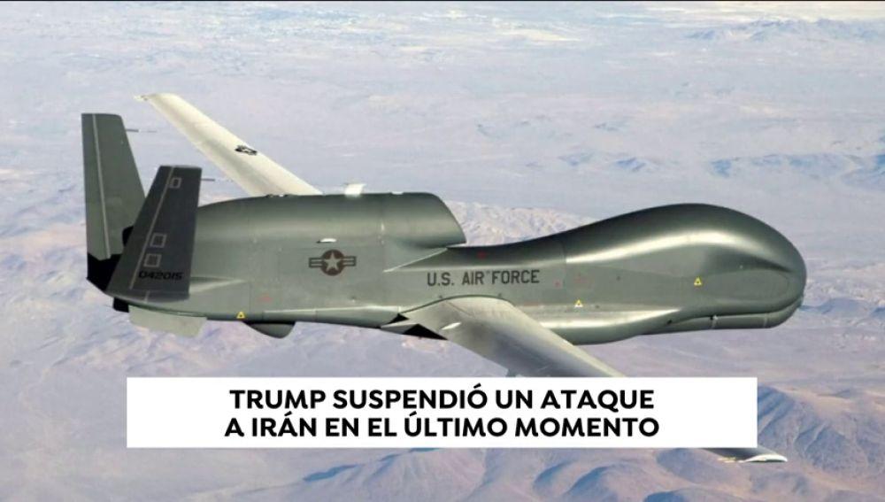 Trump suspendió un ataque a Irán en el último momento