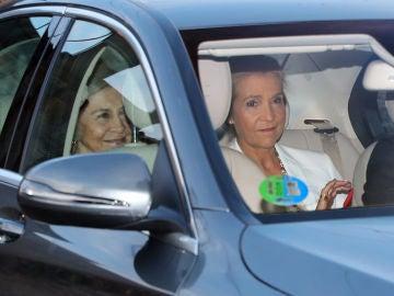La infanta Elena y la reina Sofía