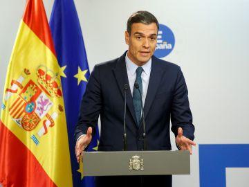 El presidente en funciones del Gobierno español, Pedro Sánchez