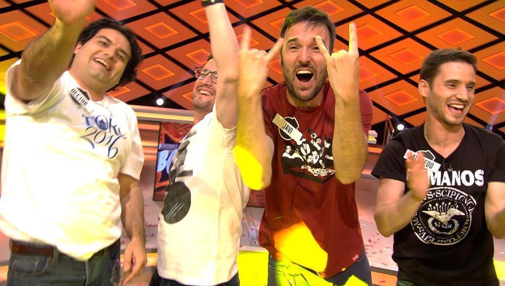 Los 'Rockcampers' en '¡Boom!'