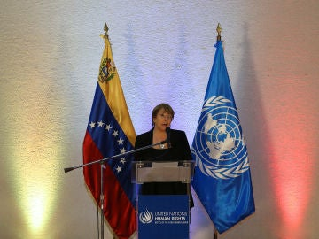 Michelle Bachelet en Venezuela
