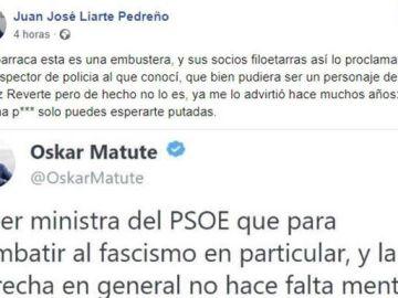 """Dirigente VOX en Murcia llama """"p***"""" y tiparraca"""" a la ministra Delgado"""