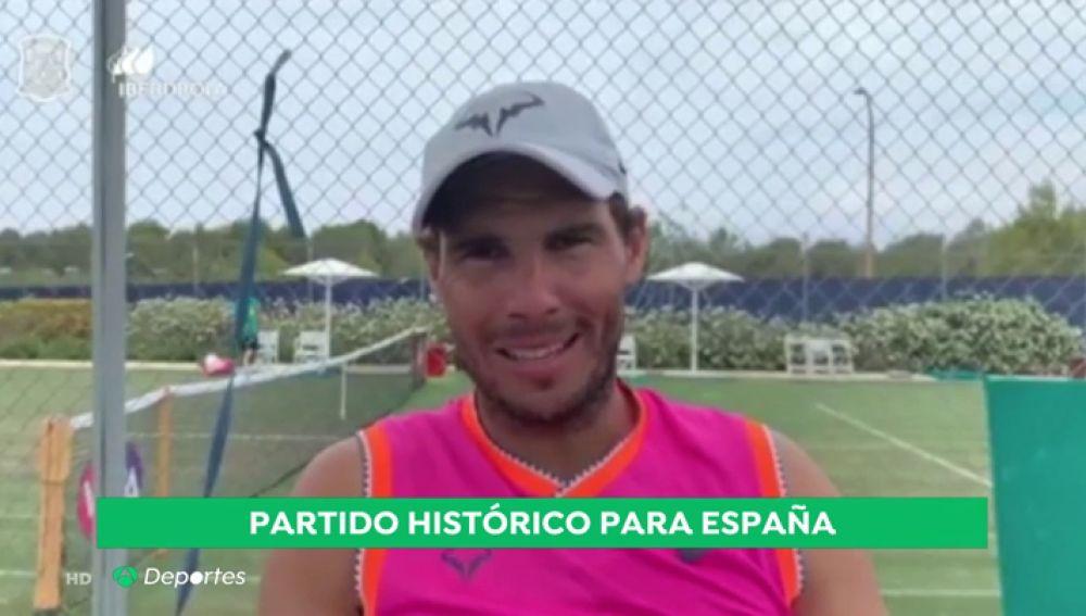 Pau Gasol, Nadal, Mireia Belmonte, Carolina Marín... el deporte español se vuelca con España antes del duelo frente a EEUU