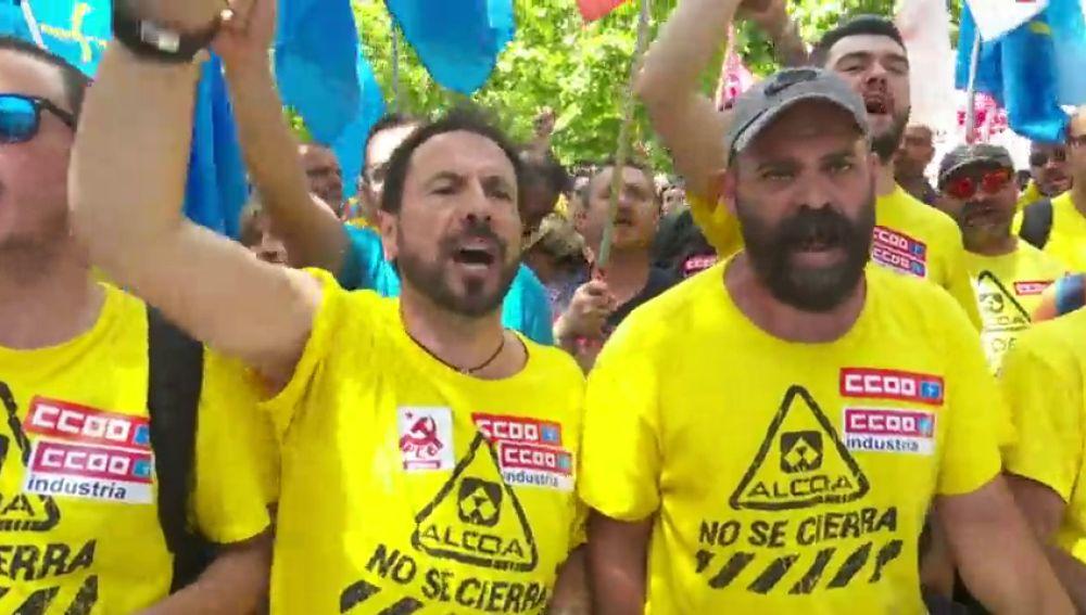 La marcha del aluminio llega a Madrid