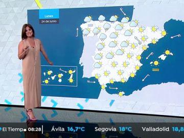 Bajada suave de las temperaturas en el norte e interior, con lluvias en Asturias