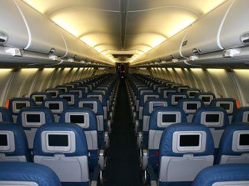 Avión vacío