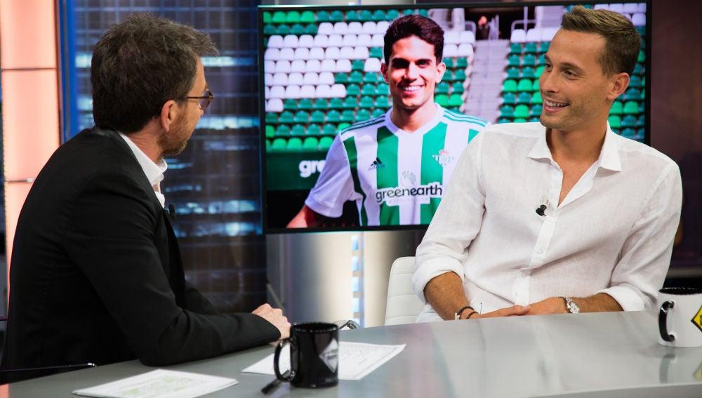 Sergio Canales destapa en 'El Hormiguero 3.0' quién es el más presumido en la plantilla del Betis