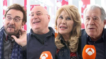 Ignacio Encinas, Xavi Garriga, Helena Bianco y Juan Mena se enfrentan al test millenial de 'La Voz Senior'