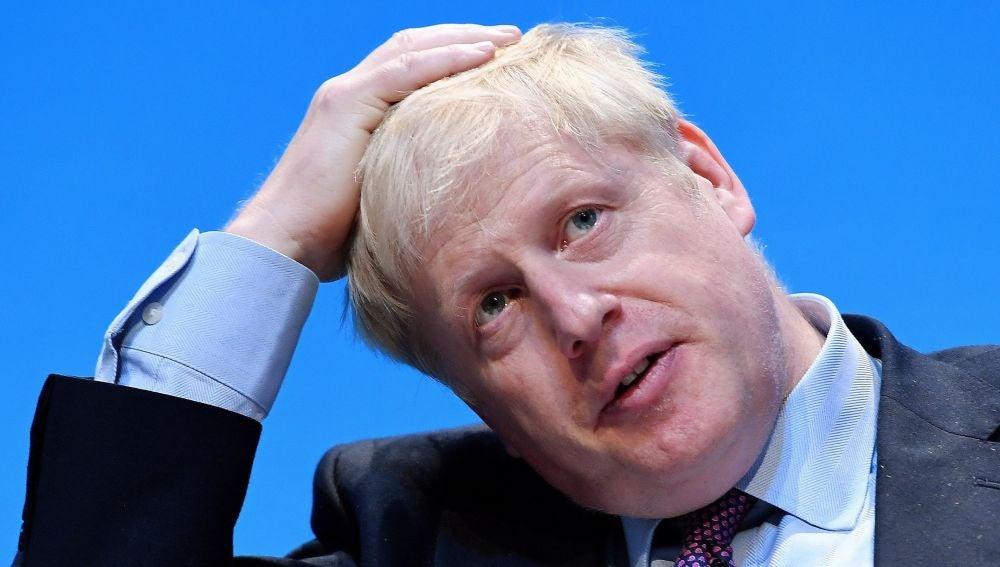 El candidato a líder conservador y a primer ministro británico, Boris Johnson
