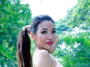 La modelo Nang Mwe San