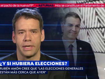 """Rubén Amón: """"A Pedro Sánchez repetir las elecciones le sirve para camuflar el fracaso de la investidura"""""""
