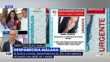 Desaparecida en Málaga.